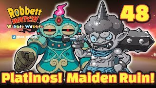 Yo-kai Watch Wibble Wobble #48: Platinos! Maiden Ruin Score Attack! Robbett Watch