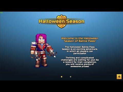 Halloween Battle Pass - Pixel Gun New Update 16.8