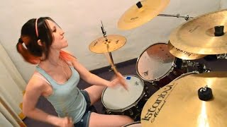 """Cannibal Corpse """"Hammer smashed face"""" Drum Cover (by Nea Batera)"""