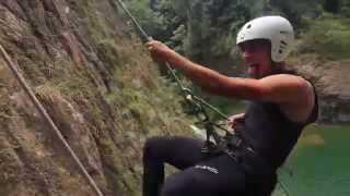 preview picture of video 'Canyoning - Rancho Jarabacoa'