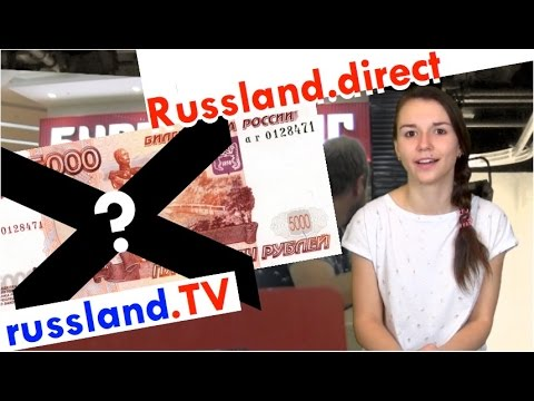 Russen gegen Bargeld-Verbote [Video]