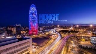 Time-lapse: Midnight Barcelona