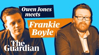Poignant commentary from Frankie Boyle from Paris to London the political direction