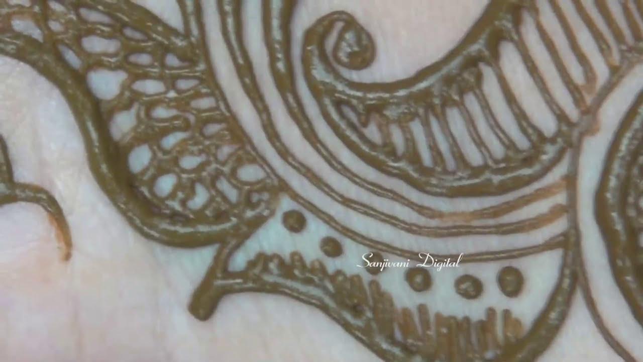 mehndi design step by step tutorial by sanjivani lifestyle