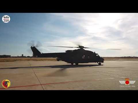 El primer helicóptero NH90 Lobo llega al Ejército del Aire español