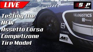 Testing Assetto Corsa Competizione's NEW Tire Model