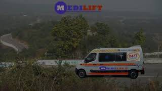 Medilift Ambulance in Ranchi-Hi-Fi Class Solution to Shift Patient