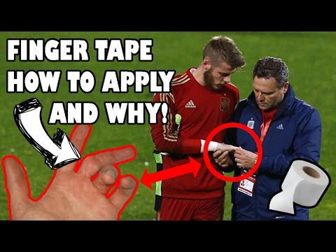 How to Finger Tape and why we use Fingertape – Football and Futsal Goalkeepers