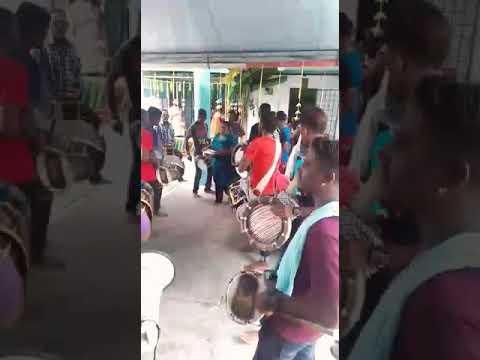 Ruthrakali Amman urumi melam rocking at dengkil