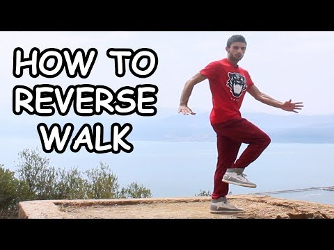 How to REVERSE WALK | DANCE MOVE TUTORIAL by Bagio