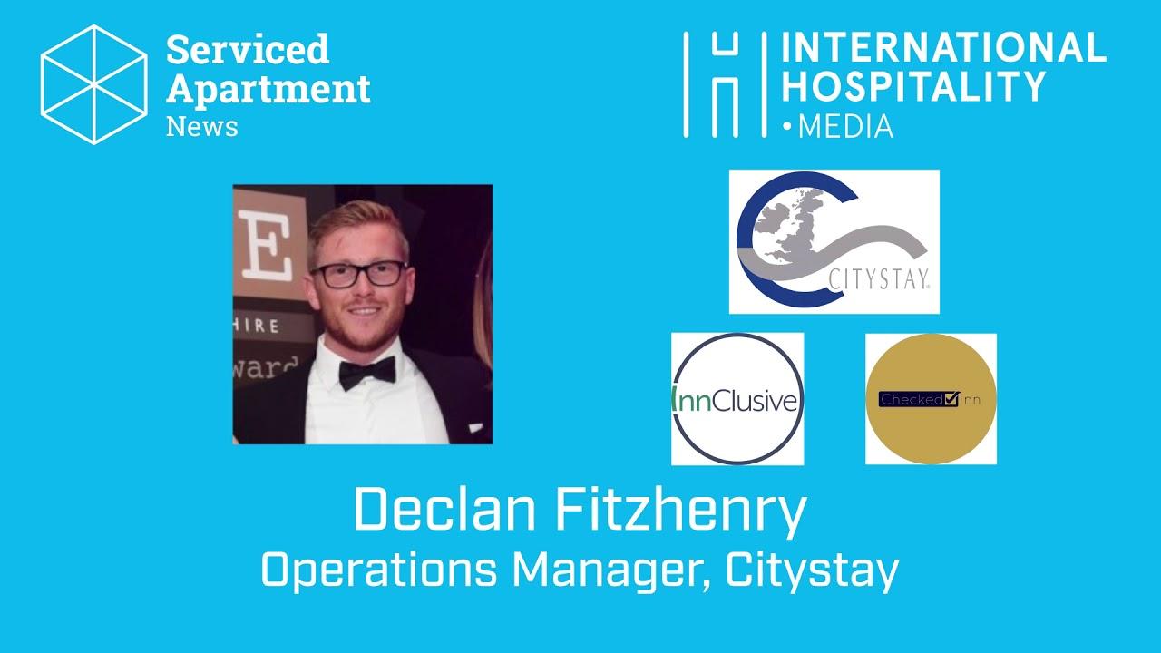 SAN podcast: Declan Fitzhenry, Citystay