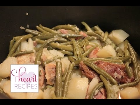 Southern Green Beans and Potatoes | I Heart Recipes
