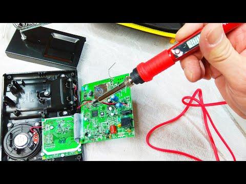 Электрический паяльник JCD с регулируемой температурой нагрева