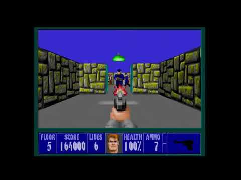 Generic Review #12: Wolfenstein 3D- A simplistic masterpiece