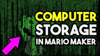 How to Build Binary Storage in Super Mario Maker