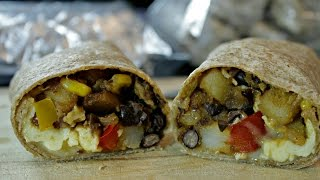 Breakfast Burrito Recipe | Freeze and Take on the Go