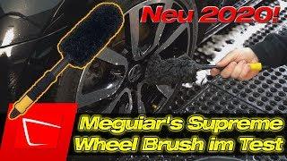 Die neuen Meguiar's Felgenbürsten aus Mikrofaser im Test - Meguiar's X1902EU Supreme Wheel Brush