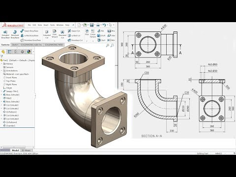 SolidWorks Tutorial for beginners Exercise 20