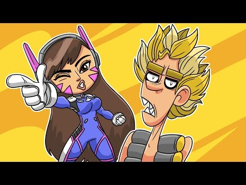 Overwatch Bits (Funny Animation)