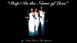 Stop! In the Name of Love (w/lyrics)  ~  Diana Ross & The Supremes