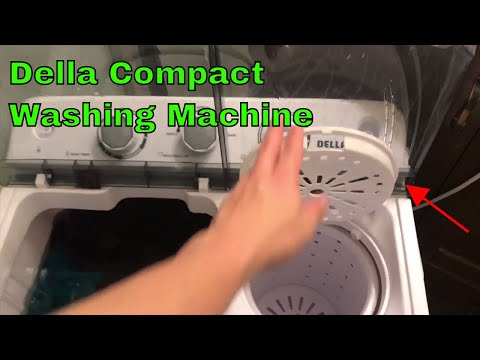 ✅  Della Washing Machine Portable Review