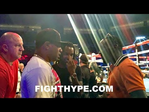 TERENCE CRAWFORD DEBATES WITH TEAM PROGRAIS; EXPLAINS BUSINESS OF BOXING & WHEN THEY CAN FIGHT