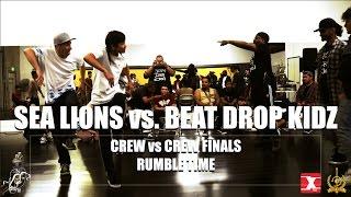 Sea Lions vs. Beat Drop Kidz | Crew vs. Crew Semi-Finals | Rumble Time | #SXSTV