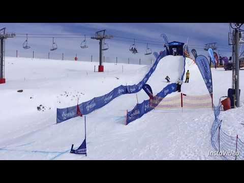 Snowboard Boardercross at Victorian Interschools 2016 (Mt Buller)