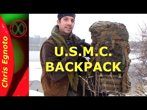 Review USMC ILBE 2nd gen. Rucksack  | The Monster Backpack! (with links)