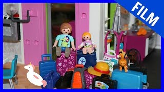 Playmobil Film Deutsch - ABREISE IN DEN SOMMERURLAUB - PlaymoGeschichten - Kinderserie