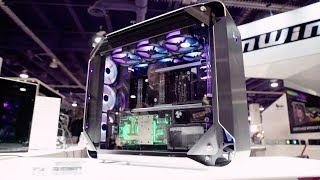 In-Win 928... This PC case is INSANE!