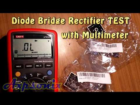 Diode Bridge Rectifier Test (from Banggood.com KBPC5010 1000V 50A)