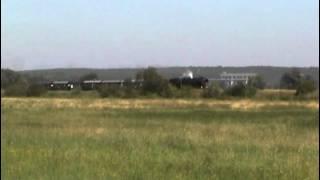 preview picture of video '52 8177-9 hinter Niederfinow mit Schiffshebewerk'