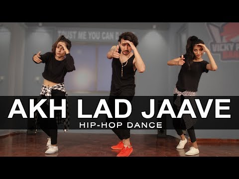 Akh Lad Jaave Dance Video | Loveratri | Vicky Patel Choreography | Easy Hiphop Steps