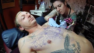 Getting My Chest Tattoo