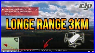LONG RANGE 3000 METROS COM DJI SPARK | MEU DRONE CAIU ?