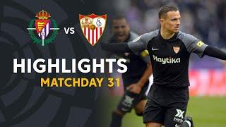 Highlights Real Valladolid Vs Sevilla FC (0-2)