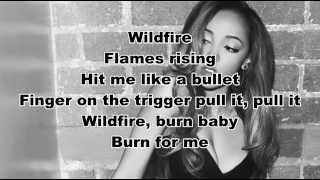 Tinashe - Wildfire lyrics