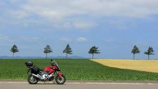 赤いバイクで北海道 2014 その6 最北のスクリーン