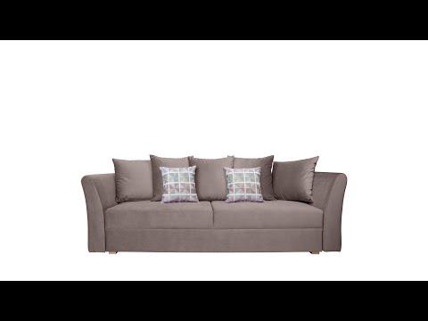 Dīvāns BRW Ronda, gaiši brūns