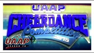 UAAP 78 Cheerdance Competition 2015 Primer
