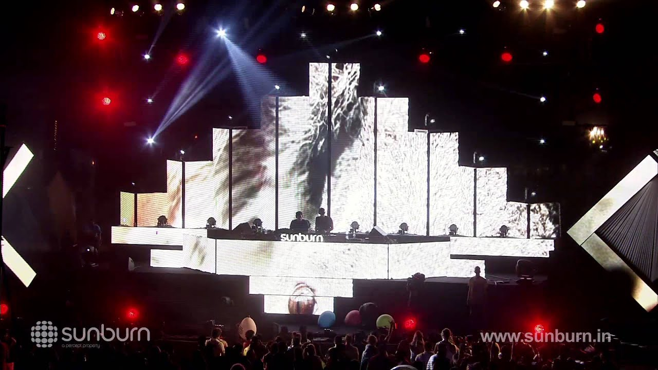 Prok and Fitch - Live @ Sunburn Goa 2013, CubeZoid Stage