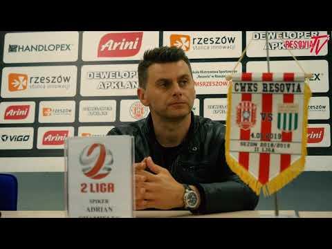 Wypowiedzi: Apklan Resovia - Olimpia Grudziądz 0-2 [WIDEO]