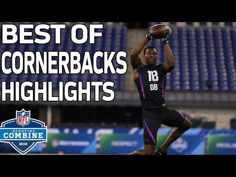 Best of Cornerbacks Workouts!   NFL Combine Highlights