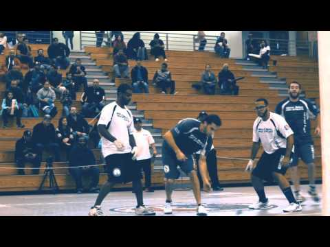 Nick & Lefty Ant (LI) v Josh & Willy (BK) - 2015 Pro Wall Ball Tournament