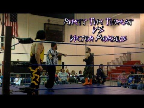 Victor Morbius vs Rhett The Threat - MSX Pro Wrestling