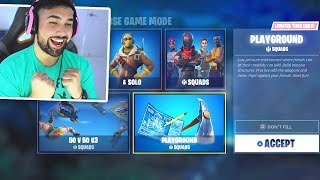 How To Play PLAYGROUND MODE in Fortnite RIGHT NOW..