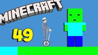 Очень подозрительный ЗОМБИ - Happy Wheels 49 (Карты Minecraft)