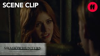 Shadowhunters | Season 2, Episode 4: Clary Visits Jace In Prison | Freeform