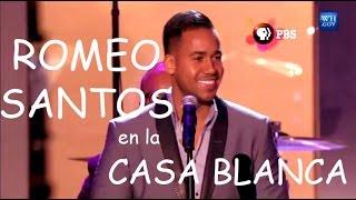 """Romeo Santos cantando """"Jose"""" en la Casa Blanca 2014 Oficial"""